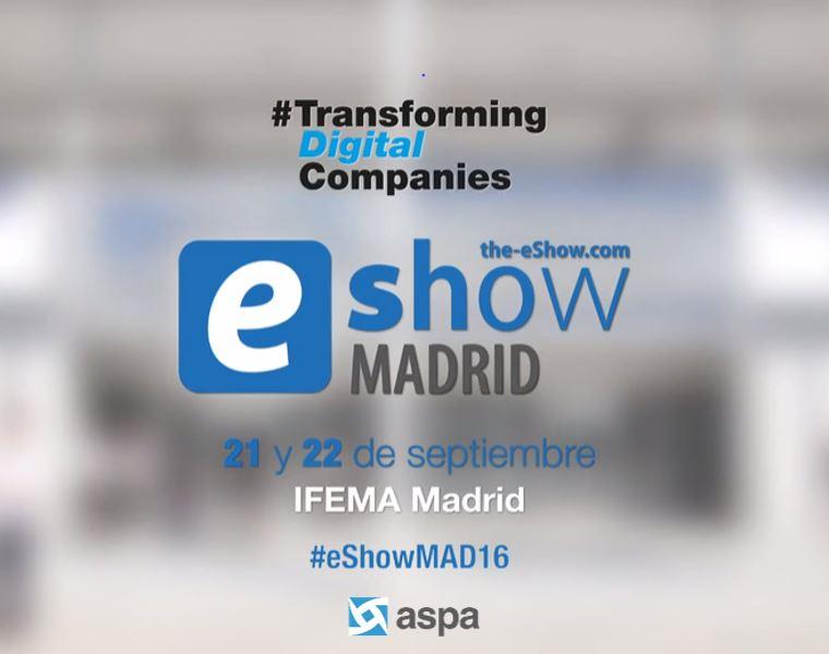 ASPA en el eShow Madrid 2016