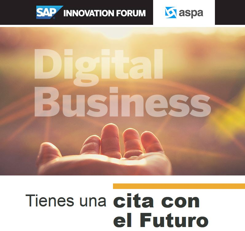ASPA en SAP Innovation Forum
